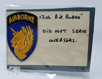 WWII United States US Army 13th Airborne Infantry Division Golden Unicorn Patch