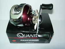 QUANTUM RESPONSE RE461CX 6.2:1 Links Bait caster Angelrolle