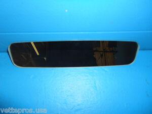 1984-1987 C4 CORVETTE INSIDE REAR VIEW MIRROR GLASS