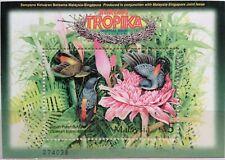 Malaysia Miniature Sheet (27.06.2002) - Tropical Birds