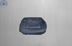Seat Cover Seat Front Seat For Mercedes W212 Driver Side, Black, Seams White