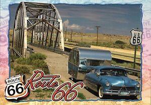 Rio Puerco Bridge, Gallup New Mexico NM, Route 66, Car Trailer - Modern Postcard