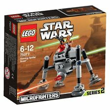 LEGO Star Wars 75077 Homing Spider Droid Planet Geonosis Microfighters Serie 2