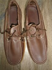 ROYAL NAVY BOAT DECK SHOES VARIOUS SIZES GENUINE ROYAL NAVY ISSUE NEW