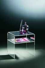 Beistelltisch aus Acrylglas - Material Acryl klar – transparent