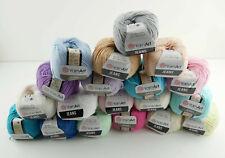 YarnArt Jeans Garn Baumwollgarn Amigurumi Babygarn Wolle 50g Yarn Art 160m/50g