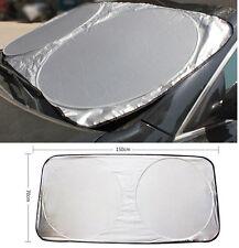 Front Rear Windshield Car Window Foldable Sun Shade Shield Sun Visor UV Block