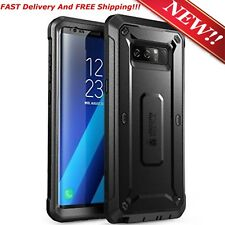 New For Samsung Galaxy Note 8 Case Cover With Screen Protector Belt Clip Holster