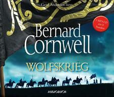 Bernard Cornwell - Wolfskrieg (Wikinger-Saga) - Hörbuch - CD - *NEU*