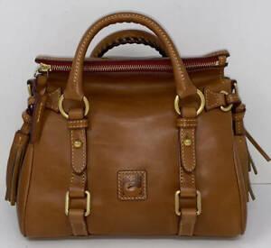 Dooney & Bourke Florentine Leather Micro Satchel ~ Natural
