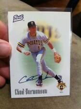 CHAD HERMANSON 1996 BEST AUTHENTIC HAND SIGNED AUTOGRAPH AUTO #NNO PIRATES!!!!