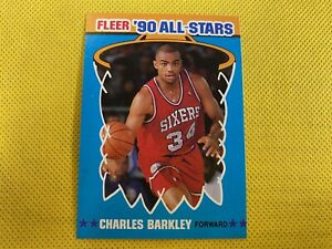 1990-91 Fleer All-Stars #1 Charles Barkley Philadelphia 76ers