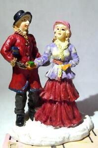 Grandeur Noel Victorian Village Couples Gifts Man Woman Christmas 2002 People