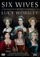 Six Wives with Lucy Worsley 3 Part BBC Series Season Henry VIII's Wives New DVD