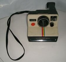 VINTAGE POLAROID ONE STEP LAND INSTANT CAMERA RAINBOW FOR PICTURES PHOTOS SX-70