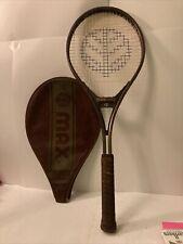 Max tennis racket with case string 70lbsgrip siz L4 3/8