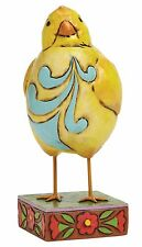 Heartwood Creek Bird Feather Your Nest Lazy Chick Yellow Figurine 14cm 4047078