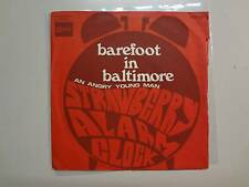 "STRAWBERRY ALARM CLOCK: Barefoot In Baltimore-An Angry Young Man-France 7"" ASL"