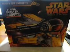 Star Wars Revenge of the Sith Anakin's Jedi Starfighter w/Firing Blaster Cannons