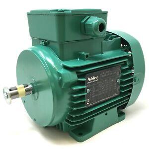 3Ph AC Industrial Induction Motor LS71M Leroy-Somer 0.25kW 4-Pole B3 Foot