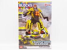 Lot 32663 rues Blocs de construction Set Transformers Warrior Hercules 96 pièces neuf dans neuf dans sa boîte