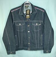 DR. MARTENS VINTAGE LIMITED EDITION AIR WAIR DM'S MENS DENIM JACKET SZ L NWT