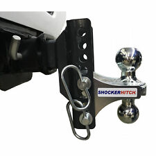 "Shocker XR Adjustable Combo Multi-Ball Mount 2"" & 2-5/16"" Hitch Balls."