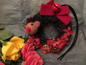 Handmade Mini Wreath Christmas Decorations - Preserved Flowers - Unique