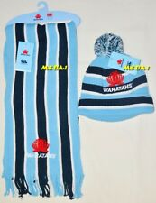 Bnwt - Nsw Waratahs Cable Knit Scarf & Beanie Set - Rugby Scarf & Beanie Combo