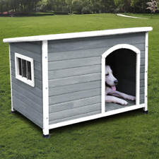 New listing Rockever Wood Dog Houses Outdoor Insulated, Weatherproof Dog Houses Outside With