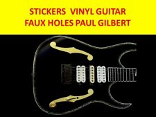 FAUSSE TROUS OR PAUL GILBERT IBANEZ VISIT MY MAGASIN FOR PERSONNALISER GUITARE