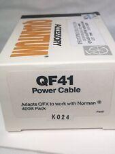 Quantum Q41-NORMAN 400B CABLE FOR  Quantum QFX/QF2  FLASH!!  NEW!!!!