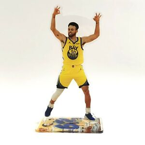 Stephen Curry Standing Figure - Golden State Warriors GSW Career High 62 Points
