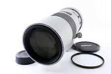 Nikon AF-S Nikkor 300mm f/4 D ED IF w/Tripod Light Gray [Excellent++] From Japan