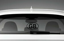 GB Car Sticker Styling Window Decal, Black