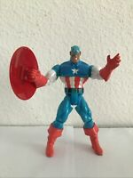 1998 ToyBiz Marvel American Heroes CAPTAIN AMERICA from Bucky 2 Pack Figure Set