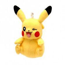 Pokémon - Figurine - Porte-clés peluche 8 cm : Pikachu