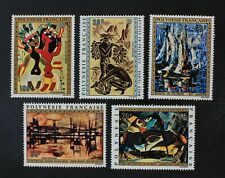 CKStamps: France Stamps Collection French Polynesia Scott#C89-C93 Mint H OG