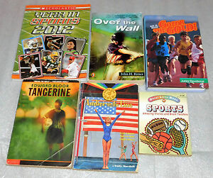 Sports Picture Books Gymnastics Soccer Baseball Track Field Tennis 2012 Lot 6
