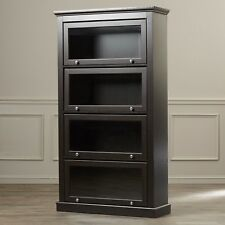 Particle Board Bookcases With Doors For Sale | EBay