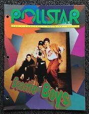 Vintage Pollstar Magazine August 31, 1992 - Beastie Boys