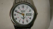 """Men's Vintage 1996 Watch SEIKO """"Railroad Approved"""" 7N43-9A00"""