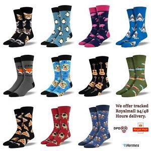 Socksmith Novelty Socks Funky Animal Food Theme Men Ladies Socks Great Gift