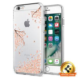 Spigen®Apple iPhone 6 6S [Liquid Crystal] Slim TPU Case Clear Design Cover