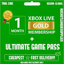 Xbox Live 1 Month Gold & Game Pass Ultimate (2 x 14 Day Pass) - FAST DELIVERY