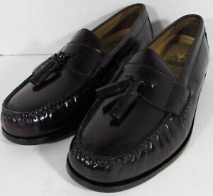 $160 Cole Haan Mens Pinch Grand Tassel Loafer Shoes, Burgundy, US 13