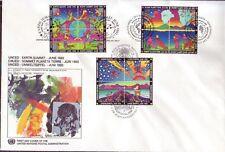 UNO Trio FDC Michel Nr. 2  vom 22.05.1992