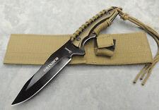 Albainox Messer Orinoco Outdoormesser Fahrtenmesser 420 Stahl + Scheide 32099