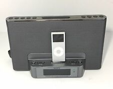 Sony ICF-cs15ip Dream Machine Personal Audio Docking System With IPOD Nano A1199