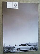 BMW M3 E46 Coupé Cabrio Preisliste 9/2004 pricelist+Individual brochure